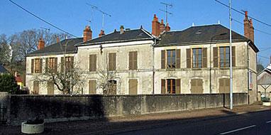 Vue actuelle façade du bâtiment