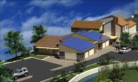 Vue future Maison de Santé